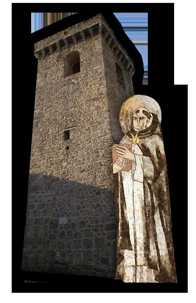 Il castello dei conti di aquino casa di san tommaso ed il for Piani di casa castello medievale