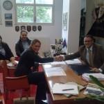 la stipula del progetto antisura con il sindaco Mazzaroppi e Veronica Fedele, presidente Rete Legale Etica